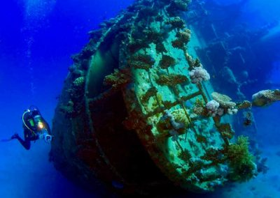 WEST BUSUANGA WRECK